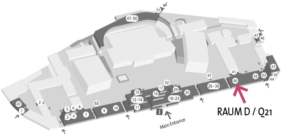 Q21 - Museumsquartier - Raum D